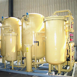 China 90-95% Purity Psa Oxygen Plant Small Footprint With 0.1-0.4Mpa Pressure Adjustable distributor